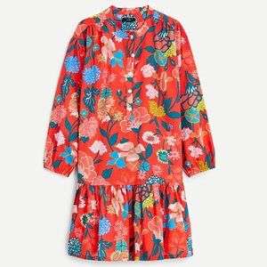 J Crew Swingy Cover-up Dress in Painted Floral